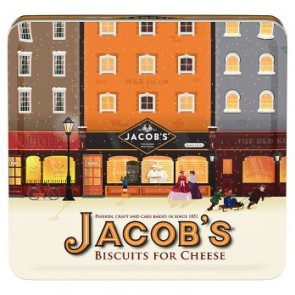 Jacobs  Biscuits For Cheese Heritage Tin