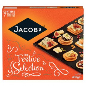 Jacobs Christmas Biscuits For Cheese