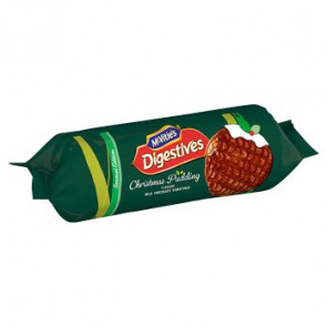 McVities Digestives Christmas Pud