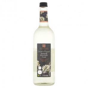 Co Op Sparkling Elderflower Presse