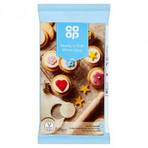 Co Op Ready Roll White Icing