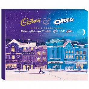 Cadbury Selection Biscuit Box With Oreo