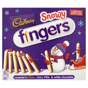 Cadbury Snowy Fingers Carton - Large