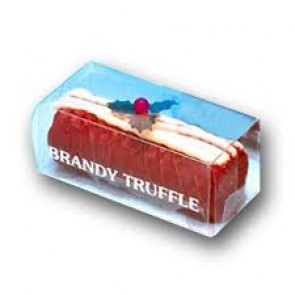 Quiggins Brandy Truffle Yule Log