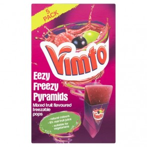 Vimto Ready To Freeze Jubbly - 5pk