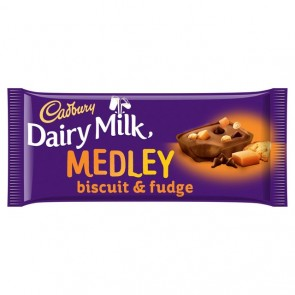 Cadbury Fudge Medley Bar