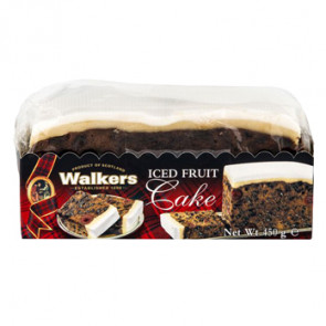 Walkers Iced Fruit Cake Slab