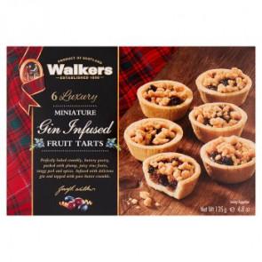 Walkers Luxury Gin Infused Mini  Mince Pies - 6pk