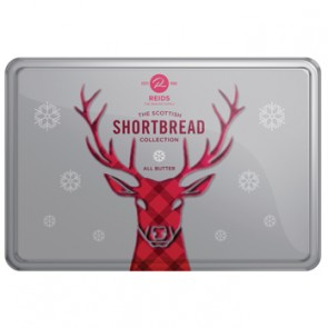 Reids Shortbread Festive Reindeer Tin