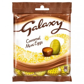 Galaxy Caramel Filled Mini Eggs Bag