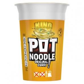King Pot Noodle Curry