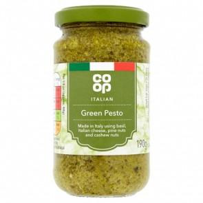 Co Op Italian Green Pesto