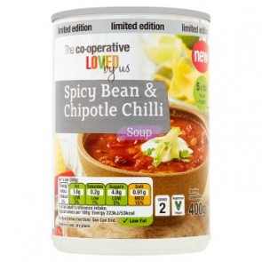 Co Op Spicy Bean Chipotle Chilli Soup