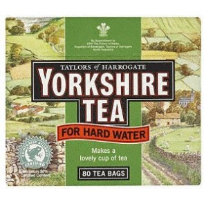 Yorkshire Tea Hard Water - 80 Bags