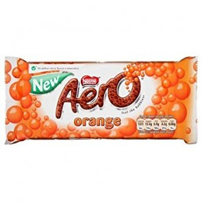 Nestle Orange Aero Limited Edition - Large
