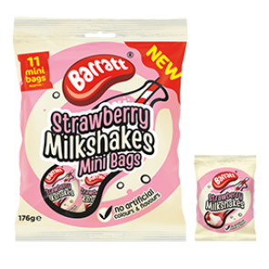 Barratt Strawberry Milkshakes Party Bag