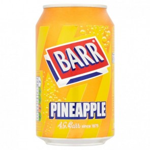 Barr Pineapple Soda Can