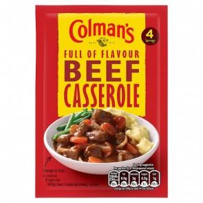 Colmans Beef Casserole Mix