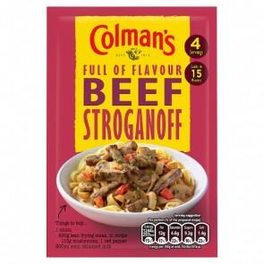 Colmans Beef Stroganoff Mix