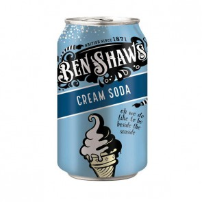 Ben Shaw Cream Soda Can