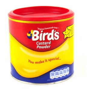 Birds Custard Tub