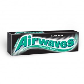 Airwaves Gum Black Mint