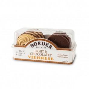 Border Chocolate Viennese Whirls