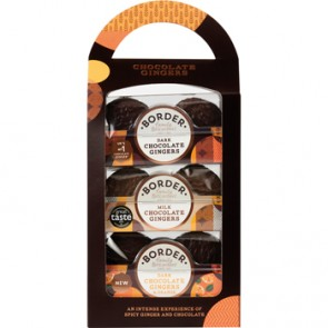 Border Chocolate Gingers Carry Pack