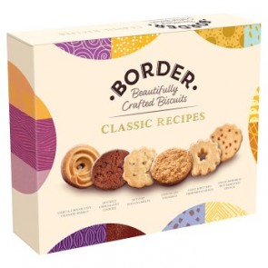 Border Classic Collection Biscuit Carton