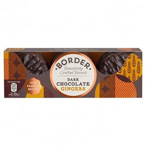 Border Dark Chocolate Gingers
