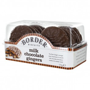 Border Milk Chocolate Gingers