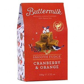 Buttermilk Cranberry Orange Fudge