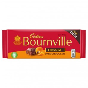 Cadbury Bournville Dark Chocolate With Orange