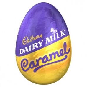 Cadbury Caramel Filled Egg