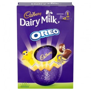 Cadbury Dairy Milk Oreo Egg - Large
