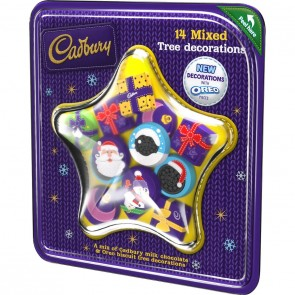 Cadbury Mixed Tree Decorsations - Large Pack