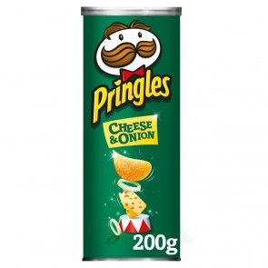 Pringles Cheese & Onion - UK Version