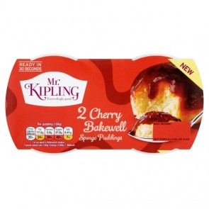 Mr Kipling Cherry Bakewell Pudding Duo