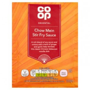 Co Op Chow Mein Stir Fry Sauce
