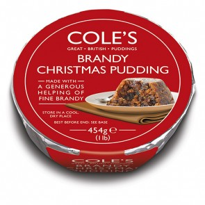 Cole's Brandy Christmas Pudding