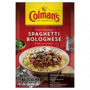 Colman's Spaghetti BologneseSauce Mix