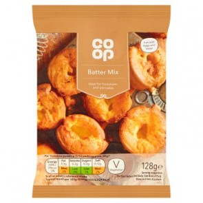 Co Op Yorkshire Pudding/Pancake Batter Mix