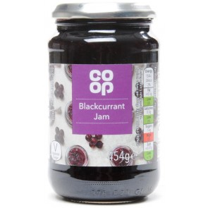Co Op Blackcurrant Jam
