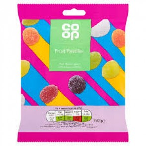 Co Op Fruit Pastilles Bag