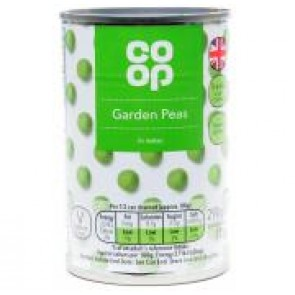 Co op Tinned Garden Peas