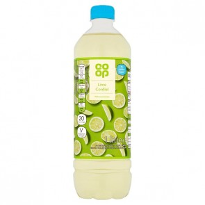 Co Op Lime Cordial