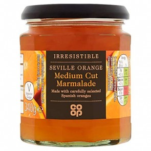 Co Op Irrisistable Seville Orange Marmalade