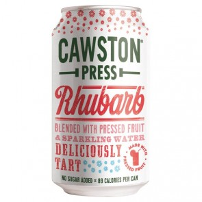 Cawston Press Rhubarb Apple Soda