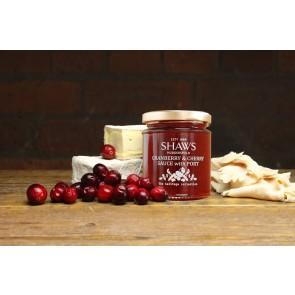 Shaws Cranberry & Cherry Sauce