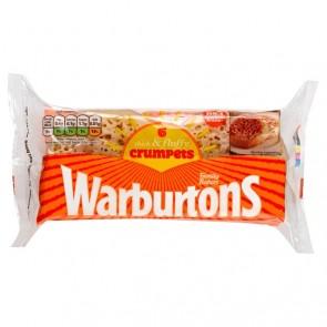 Warburtons Crumpets 6pk